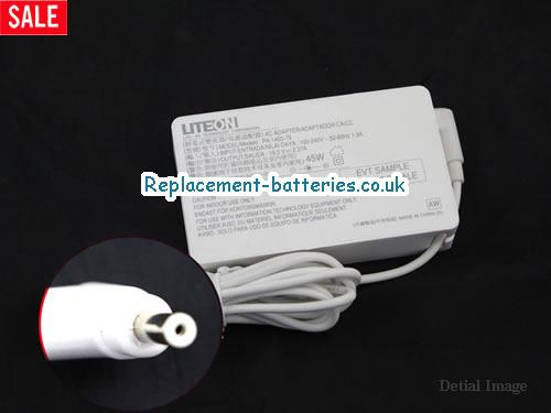 Genuine ACER N13-045N2A Laptop AC Adapter 19V 2.37A 45W
