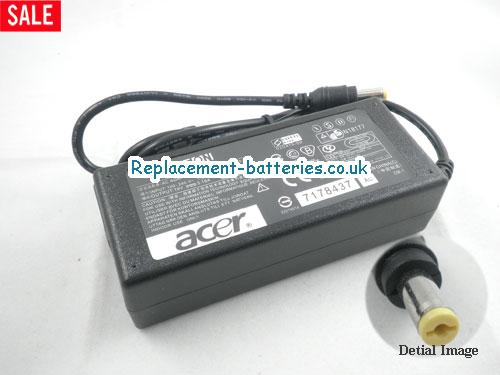 Genuine ACER TravelMate 521TXV Laptop AC Adapter 19V 3.16A 60W