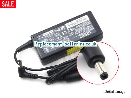 Genuine TOSHIBA Satellite 1605 Laptop AC Adapter 19V 3.42A 65W