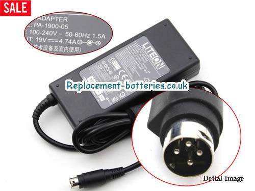 Genuine ACBEL AP13D05 Laptop AC Adapter 19V 4.74A 90W