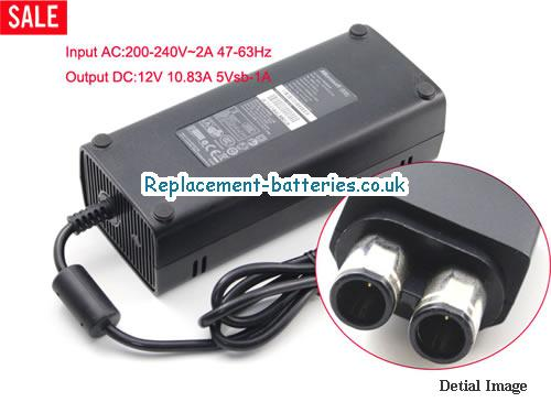 Genuine MICROSOFT X818315-006 Laptop AC Adapter 12V 10.83A 130W