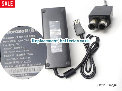 Genuine MICROSOFT REV 03 Laptop AC Adapter 12V 10.83A