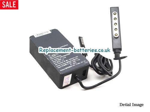 Genuine MICROSOFT SURFACE RT Laptop AC Adapter 12V 3.58A 53W