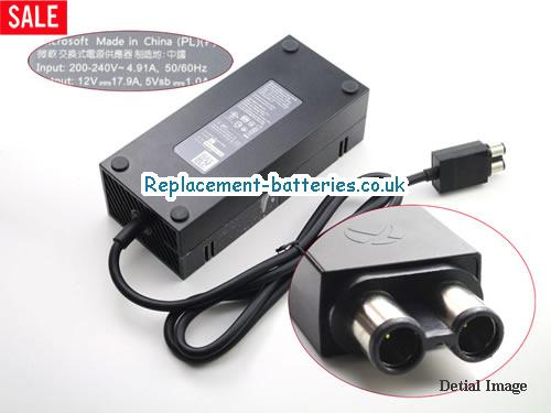 Genuine MICROSOFT X863374-005 Laptop AC Adapter 12V 17.9A 220W
