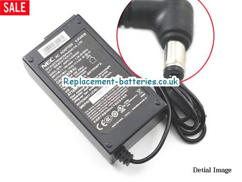 Genuine NEC 2273826A0008 Laptop AC Adapter 12V 3A 36W