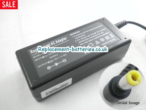 Genuine NEC Versa 2530 Laptop AC Adapter 19V 3.16A 60W
