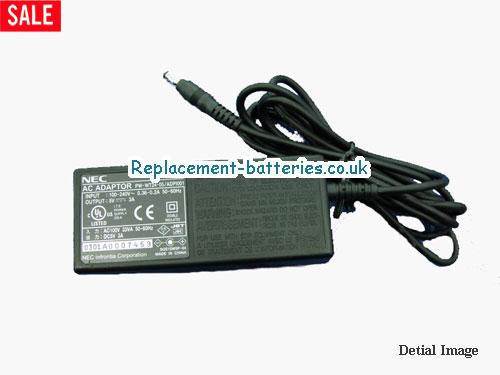 Genuine NEC ADPI001 Laptop AC Adapter 5V 3A 15W
