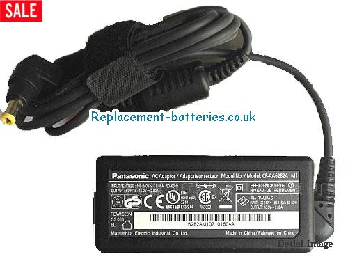 Panasonic Laptop AC Adapter 16V 2.8A