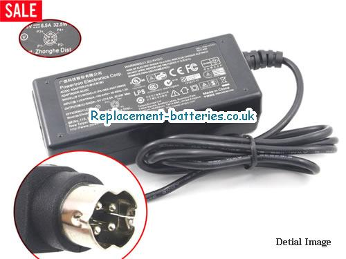 Genuine PEC PA1065-050T2B650 Laptop AC Adapter 5V 6.5A 32.5W