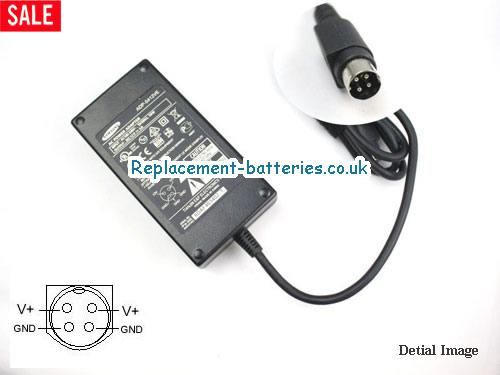 Genuine SAMSUNG ADP-5412VE Laptop AC Adapter 12V 4A 48W