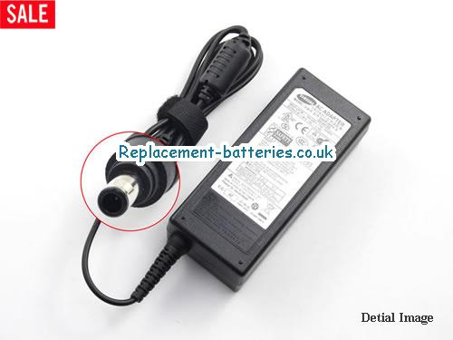 Genuine SAMSUNG Q20 Laptop AC Adapter 19V 3.16A 60W
