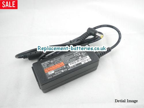 Genuine SONY VGN-P588E Laptop AC Adapter 10.5V 2.9A 30W