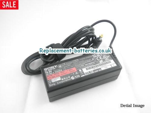 Genuine SONY VGN-P720K/Q Laptop AC Adapter 10.5V 2.9A 30W