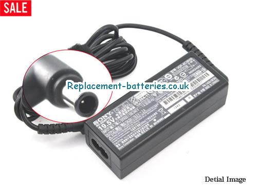 Genuine SONY VAIO VPC-W11S1E/P Laptop AC Adapter 19.5V 2A 39W