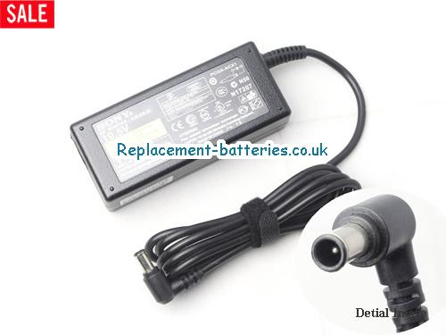 Genuine SONY PCG-808 Laptop AC Adapter 19.5V 2.15A 40W