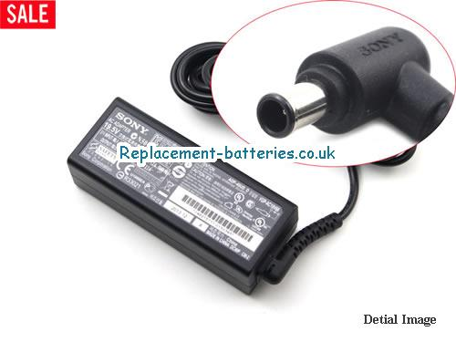 Genuine SONY VGP-AV19V68 Laptop AC Adapter 19.5V 2.3A 45W