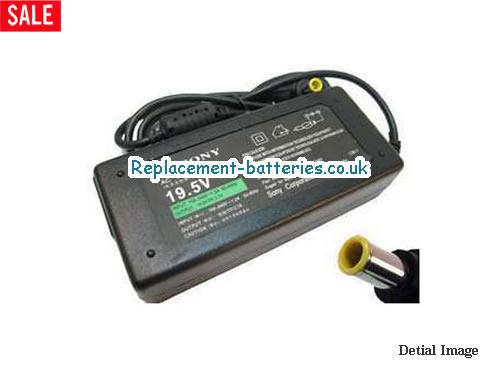 Genuine SONY PCG-FR55E/B Laptop AC Adapter 19.5V 2.7A 53W