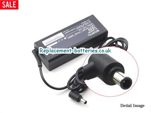 Genuine SONY PCG-FR55E/B Laptop AC Adapter 19.5V 3.3A 65W