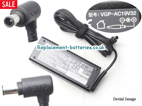 Genuine SONY VGP-AC19V12 Laptop AC Adapter 19.5V 4.7A 92W