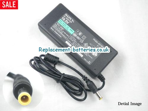 Genuine SONY Sony PCG-GRS Series Laptop AC Adapter 19.5V 5.13A 100W