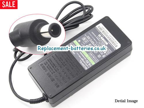 Genuine SONY VGA-AC19V15 Laptop AC Adapter 19.5V 6.2A 121W