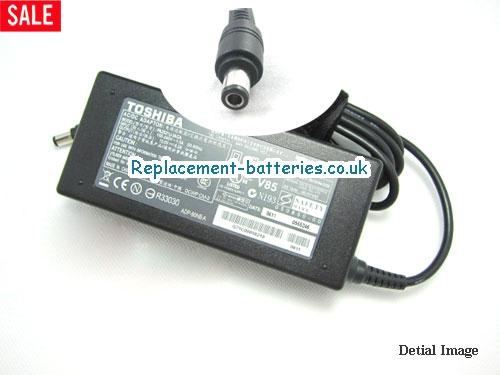 Genuine TOSHIBA TECRA A7-135 Laptop AC Adapter 15V 6A 90W