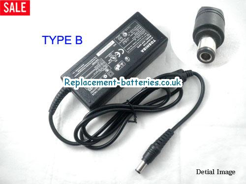Genuine TOSHIBA Satellite 4015CDT Laptop AC Adapter 15V 3A 45W