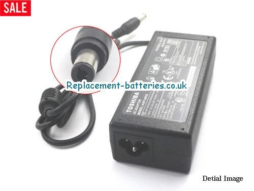 Genuine TOSHIBA SATELLITE 2515CDS Laptop AC Adapter 15V 4A 60W