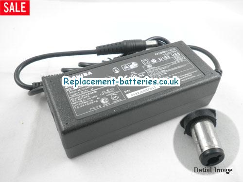 Genuine TOSHIBA Portege 305CT Laptop AC Adapter 15V 4A 60W