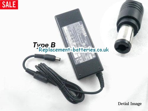 Genuine TOSHIBA SATELLITE 2515CDS Laptop AC Adapter 15V 5A 75W