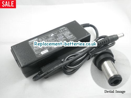 Genuine TOSHIBA Satellite P100-413 Laptop AC Adapter 15V 6A 90W