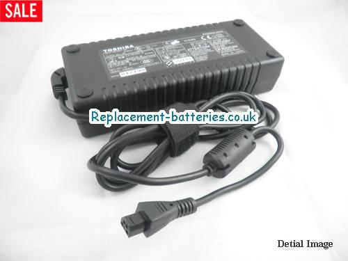 Genuine TOSHIBA Satellite A25-S2791 Laptop AC Adapter 15V 8A 120W