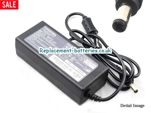 Genuine TOSHIBA SATELLITE 1605 Laptop AC Adapter 19V 3.16A 60W