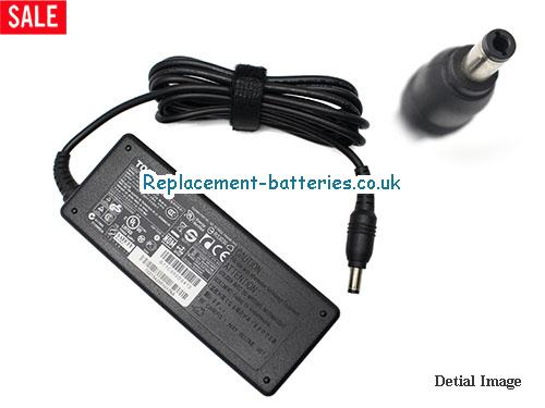 Genuine TOSHIBA DYNABOOK TX/65H Laptop AC Adapter 19V 3.95A 75W