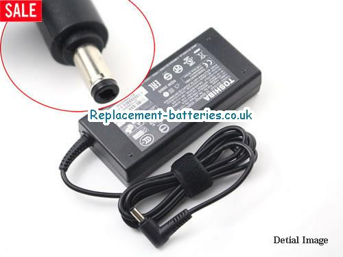 Genuine TOSHIBA A65 Laptop AC Adapter 19V 6.32A 120W
