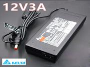 DELTA 12V 3A Laptop AC Adapter 5.5 x 2.1mm