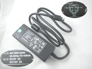 FLYPOWER 12V 2A Laptop AC Adapter 4pinmm
