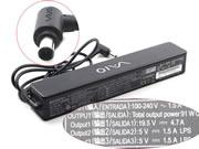 SONY 19.5V 4.7A Laptop AC Adapter 6.5x4.4mm