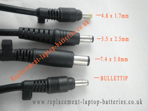 Picture 1 Difference of Compaq laptop adapter tips
